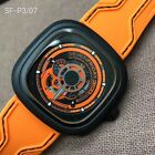 SevenFriday 47MM Automatic Watch black PVD Coating Japan Miyota Movement  Q-14