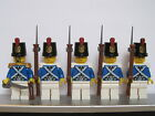 Lego PIRATE Imperial Guard BLUECOAT Soldiers MINIFIGS Musket + Bayonet NEW