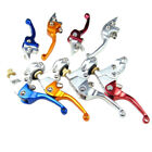 Pair Motorcycle Short Clutch Brake Folding Lever Handle Bar Fit Pit Dirt Bike