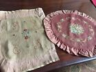 Antique Needlepoint Chair Seat Covers