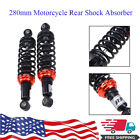 11 280mm Pair Motorcycle Shock Absorber Air Damper For Honda Scooter 50cc 70cc