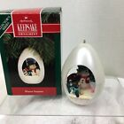 1992 Winter Surprise #4 Hallmark Christmas Tree Ornament MIB Price Tag H8