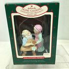 1987 Mr and Mrs Claus #2 Home Cooking  Hallmark Christmas Tree Ornament MIB H8