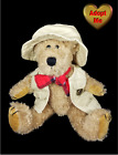 Boyd's Bears Thayer Camping Fishing Jointed Teddy Stuffed Plush Animal 1998 9in