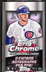 2015 Topps Chrome Baseball Factory Sealed Hobby Box