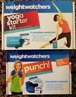 Weight Watchers Yoga Starter Kit and Punch with Weighted Gloves