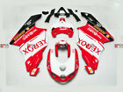 DIV For Ducati 748 999 Injection Molding Fairing Set Kit Red White