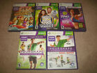 Your Shape Fitness Evolved Biggest Loser Workout Zumba Rush Xbox 360 KINECT LOT