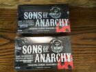 TWO 2014 Cryptozoic Sons of Anarchy Seasons 1-3 Sealed Hobby Trading Card Boxes