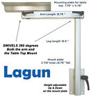 Lagun Marine Boat RV Motorhome Swivel  Adjustable Height Cockpit Table Pedestal