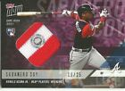 RONALD ACUNA JR 2018 TOPPS NOW PLAYERS WEEKEND PATCH