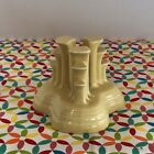 Fiestaware Yellow Pyramid Candle Holder Fiesta Retired Pale Yellow Single