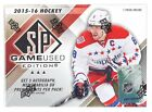 2015-16 Upper Deck SP Game Used Hockey Factory Sealed 10 Box Hobby Case