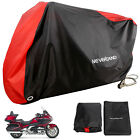 XXXL Red Motorcycle Cover Waterproof For Honda Goldwing GL1800 1500 1200GL 1100