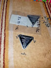 TRIUMPH PREUNIT TIGER 100 ENGINE MOTOR MOUNT CRANKCASE TIMING COVER BADGE ID TAG