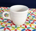 Fiestaware White Demi Cup Fiesta Retired AD Demitasse CUP ONLY