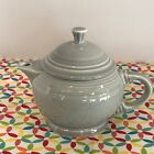 Fiestaware Pearl Gray 2 Cup Teapot Fiesta Retired Grey Small Childs Teapot
