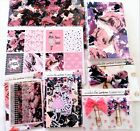 Scarlet Lime Planner Society Supply TN Lot Rose Floral Travelers Journal Sticker
