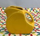 Fiestaware Daffodil Mini Disc Pitcher Fiesta Bright Yellow Small Creamer