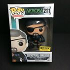 🔥Funko Pop Arrow DEATHSTROKE Unmasked Hot Topic Exclusive Free Protector Mint🔥