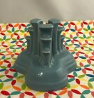 Fiestaware Periwinkle Pyramid Candle Holder Fiesta Retired Blue Single