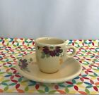 Fiestaware Clematis HLCCA Conference Exclusive Demi Cup and Saucer Fiesta 2017