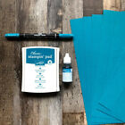 Island Indigo Stamp Foam Pad Refill Markers  Cardstock Stampin Up RETIRED