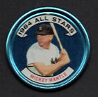 MICKEY MANTLE ALLSTAR 1964 TOPPS COINS COIN #131B NICE COIN ! NOT TOO MUCH WEAR