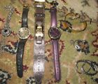 Lot of 3 + Watches Guess Signature Anne Klein Liz & Guess Bracelet and Earrings