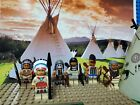 LEGO Native American Indian Village Settlement NEW 100 Genuine LEGO