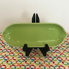 Fiestaware Chartreuse Relish Tray Fiesta Retired Green Corn on the Cob Tray