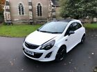 2014 VAUXHALL CORSA 12 LIMITED EDITION A C 3DR ONLY 29K PEARL WHITE