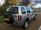 2005 JEEP CHEROKEE 28 CDI AUTOMATIC DIESEL 85 000 MILES SERVICE HISTORY