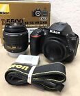 Nikon D5500 DSLR Camera W 18 55 VR Lens Nice Cond With Box