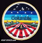 COLUMBIA STS 107 SHUTTLE MEMORIAL TIM GAGNON COMMEMORATIVE SPACE PATCH MINT