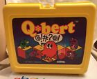 Vintage QBert Lunchbox  Thermos 1983 D Gottlieb Video Game Lunch Box Rare HTF