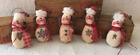 Primitive Ornies Snowmen Angel Ornies Bowl Fillers Make Do's Prim Ornies Tucks