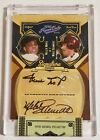 Willie Mays Mike Schmidt 2008 Playoff Prime Cuts Dual Auto # 10 Encapsulated SP