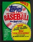 TOPPS 1987 - 12 Unopened Packs from New Box - FREE SHIPPING US (1)