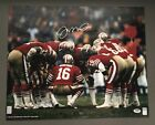 Joe Montana Signed Autographed 16x20 PSA DNA 49'ers Chiefs HOF