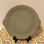 Fiestaware Pearl Gray Round Serving Tray Fiesta Retired Gray Grey Serving Plate
