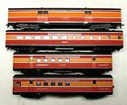 FOUR SOUTHERN PACIFIC DAYLIGHT CARS HO SCALE