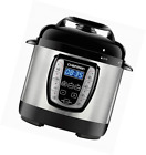 Chefman Electric Pressure Cooker Programmable Multicooker, Prepare Dishes in an
