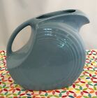 Fiestaware Periwinkle Large Disc Pitcher Fiesta Retired Light Blue Water Pitcher