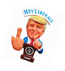 Donald Trump Doll This Bobblehead Has A Bobbling Middle Finger instea