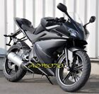 Matte Black Fairing Panel Kit For Yamaha YZF-R125 2008-2013(Buy the other parts)