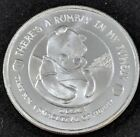 Disney Winnie the Pooh Silver 1 oz Ounce Round Collectible Coin Medallion