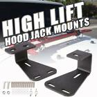 2X High Lift Jack Hood Mount Brackets Carrier Offroad For Jeep Wrangler CJ YJ TJ