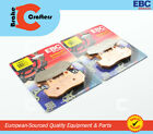 1984 - 1986 HONDA VF500F INTERCEPTOR - FRONT EBC HH SINTERED BRAKE PADS - 2 PAIR