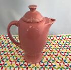 Fiestaware Rose Coffee Server Fiesta Retired Light Pink Serving Carafe